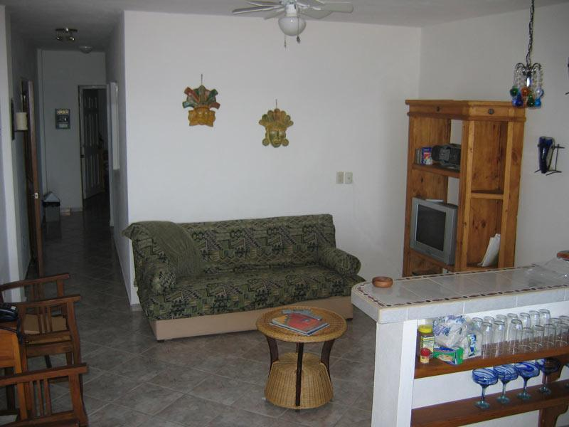 Living Room - 2-4 Br Condo - 1 Block from Los Muertos Beach - Puerto Vallarta - rentals