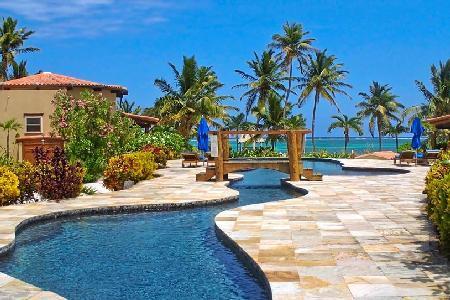 Seascape - Beachfront Villa on North Ambergris Caye - Exotic Atrium - Image 1 - Ambergris Caye - rentals