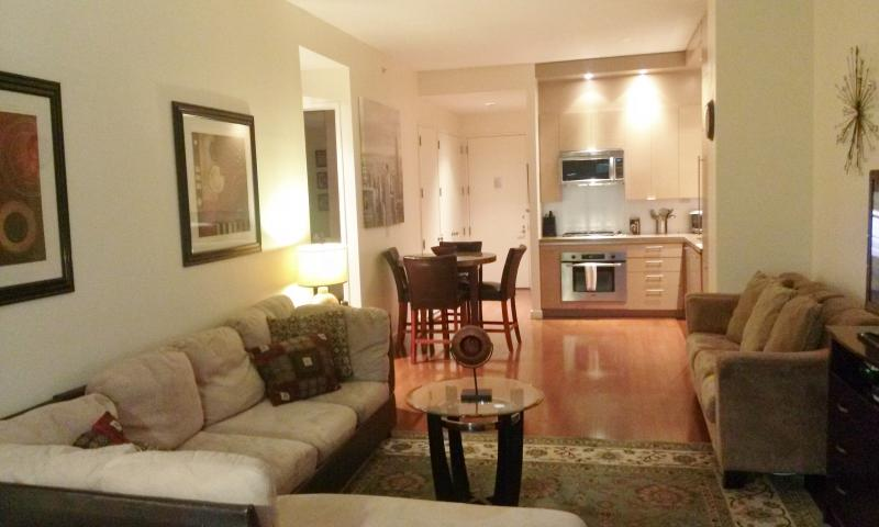 Living room - 2 Bedroom/1 Bath in Times Sq., Theatre District - New York City - rentals