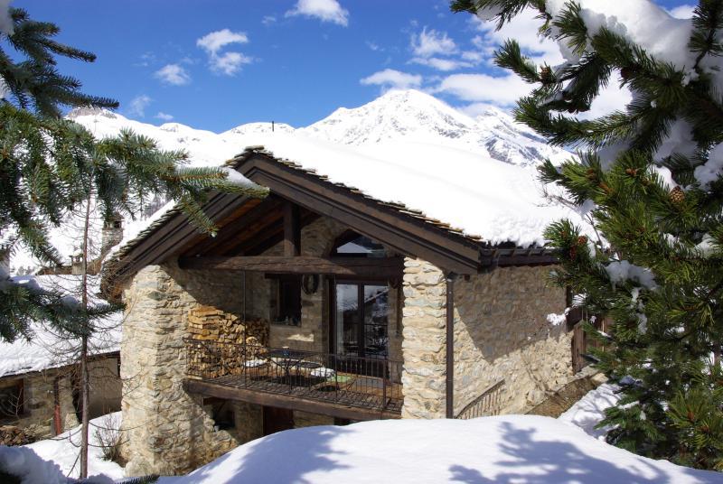 chalet du saut rental tignes vad\'isere in winter - Val d'Isere Tignes charming Ski Chalet sleeps 14 - Val-d'Isère - rentals