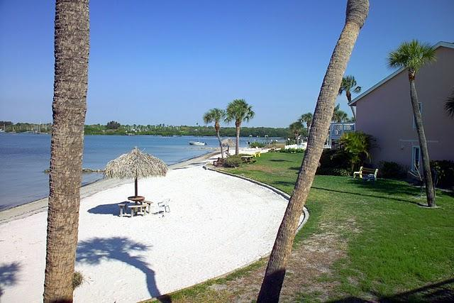 Your view of the Beach from Condo! - 12 steps to the Beach; Florida Sun Coast Condo - Saint Petersburg - rentals