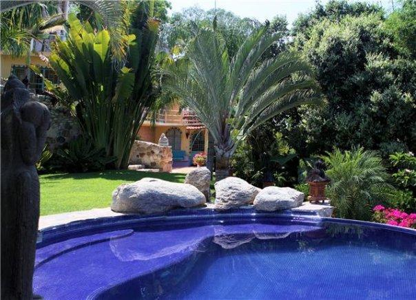 pool area - Casa Kukana - Sayulita - rentals
