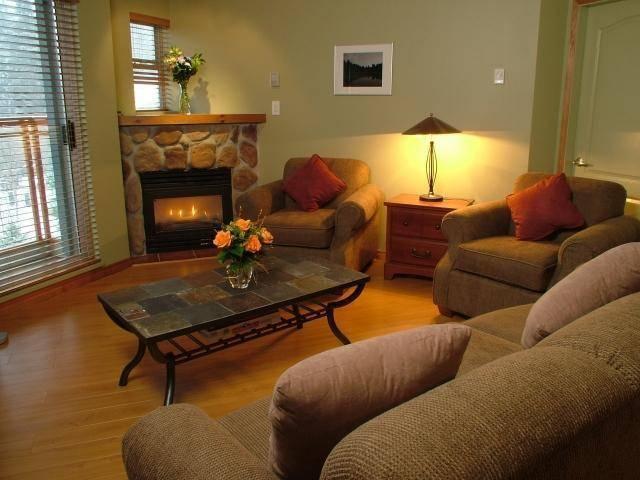 Living Room - Luxury Whistler Condo - Whistler - rentals