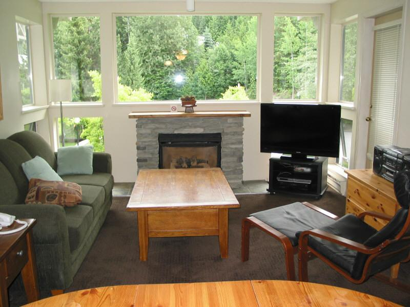 Relax in our cozy living room... - Whistler Ski Golf Condo - Whistler - rentals