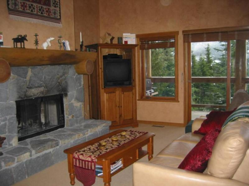 Our comfortable living room - The Taluswood Experience - Whistler - rentals