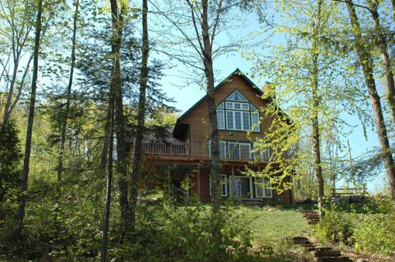 Exterior View - Summer - Oasis on/sur Lac Forget - Mont Tremblant - rentals