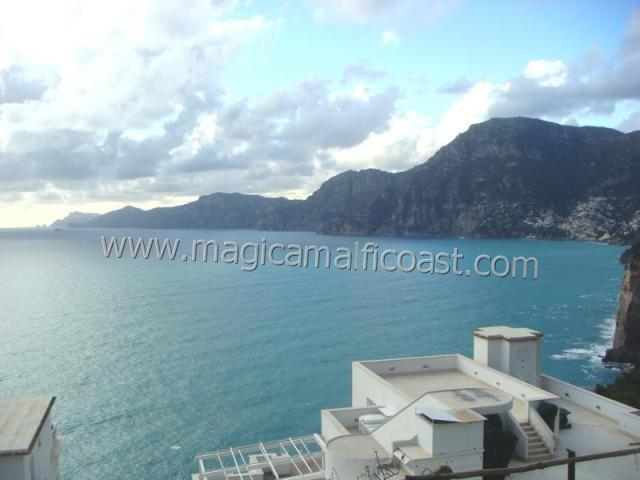 Casa Ambra - view to Positano and Capri, WIFI, parking - Image 1 - Praiano - rentals