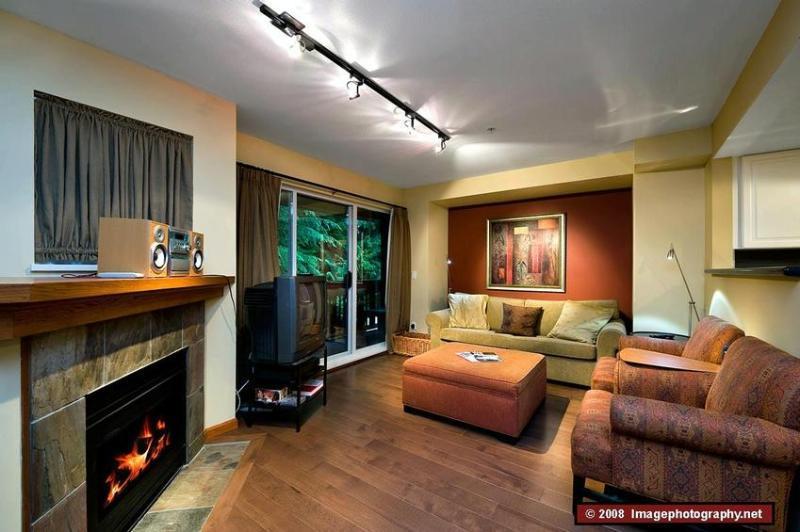 Living Room - Karim Property Management - Whistler - rentals