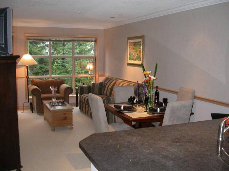 Newly remodeled Living Room makes this unit one of the best of Blackcomb Mountain! - Jeff Barger - Whistler - rentals