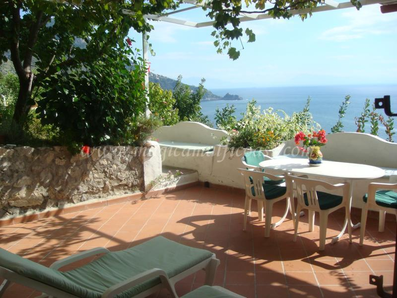 Daniela A - Villa Daniela - seaview, terrace, pool + parking - Praiano - rentals