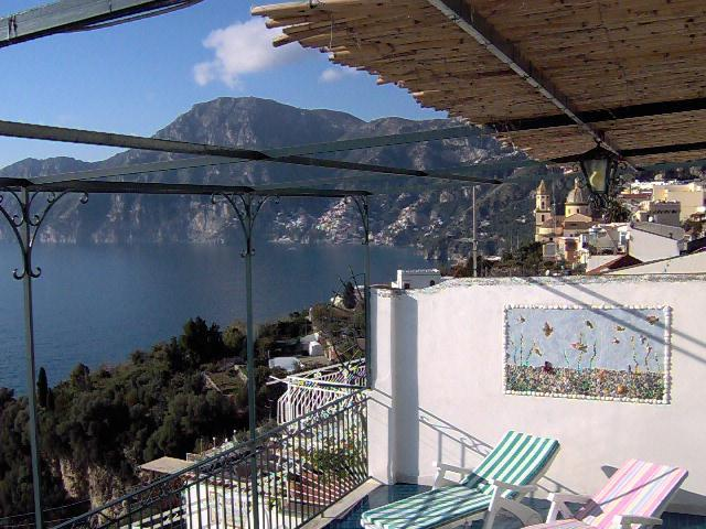 Casa Maria Cristina - terrace with seaview towards Capri - Image 1 - Praiano - rentals