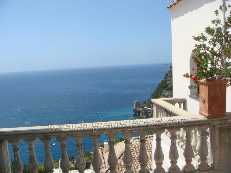 Villa Emma - in the heart of Positano - large seaview-terrace, parking - Image 1 - Positano - rentals