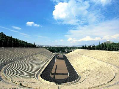 location: The ancient Panathenean Stadium or