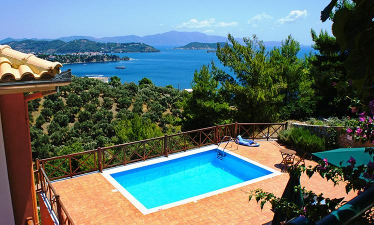 View from Europa's pool - Luxury villas , private pools, stunning sea view. - Skiathos - rentals