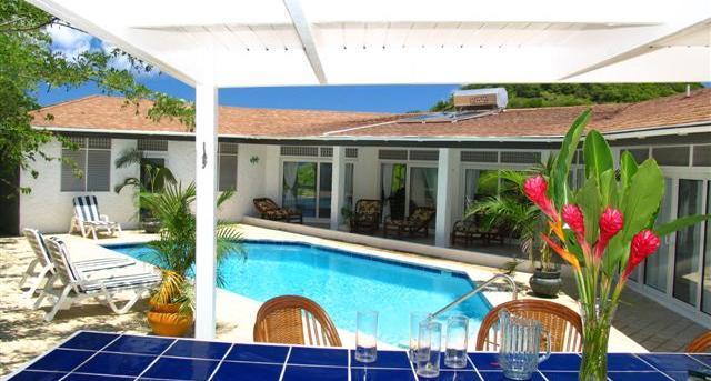 5 Bedroom hillside villa in an acre of lush landscaped gardens - Image 1 - Cap Estate - rentals