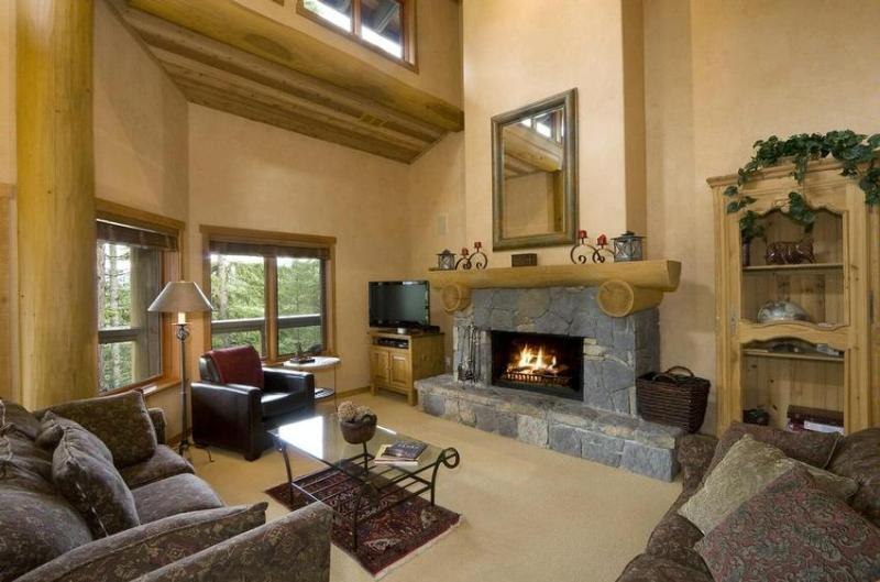 Living room - SKI-IN/SKI-OUT LUXURY HOME ON WHISTLER MOUNTAIN - Whistler - rentals