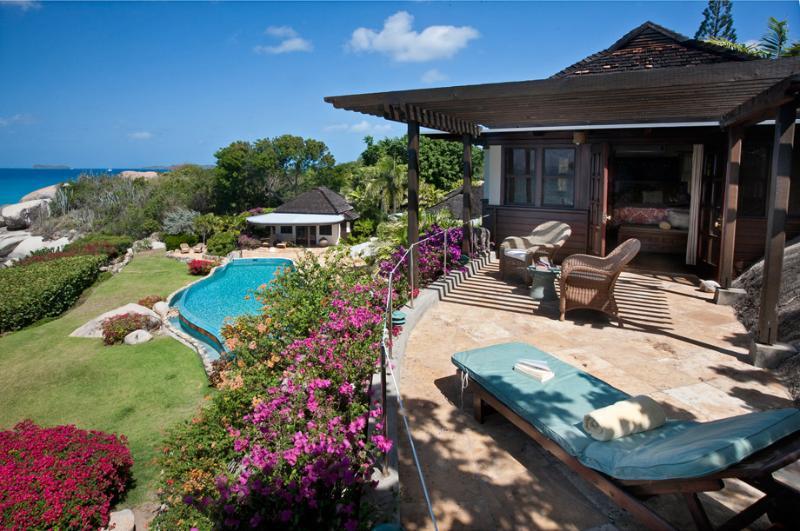 Sol y Sombra at Little Trunk Bay Estate, Virgin Gorda - Beachfront, Pool, Tennis Court - Image 1 - Virgin Gorda - rentals
