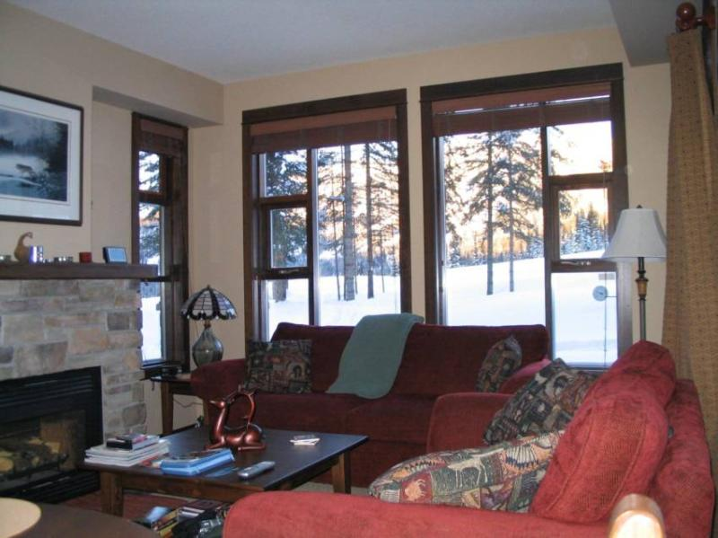 Cozy Livingroom with awesome view! - Keith and Rennie - Sun Peaks - rentals