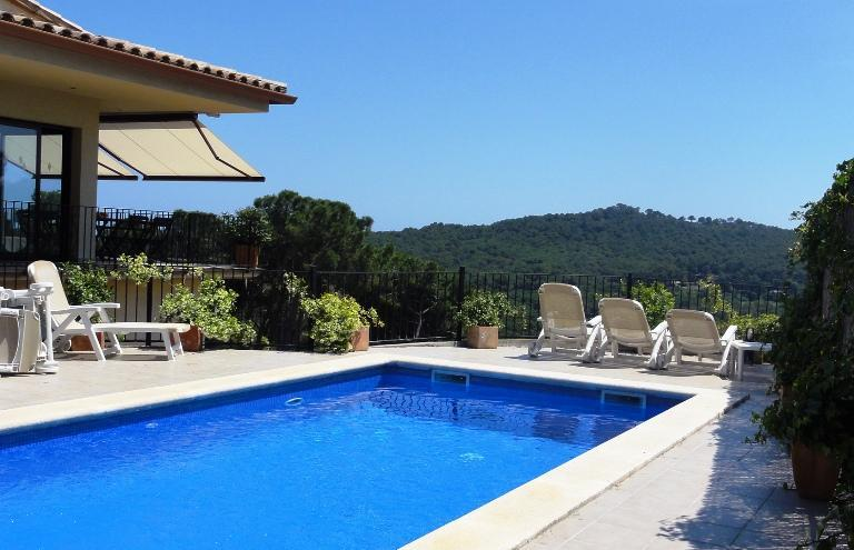 pool and terraces - BEGUR.Private Pool.Outstanding views Slps10/11 - Begur - rentals