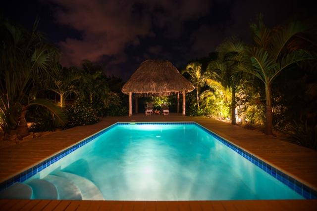 You can do this! The grill is just off to the right and the Bose speakers are waiting for you! - Villa Tranquilo-Zen location for the Zen at heart! - Curacao - rentals