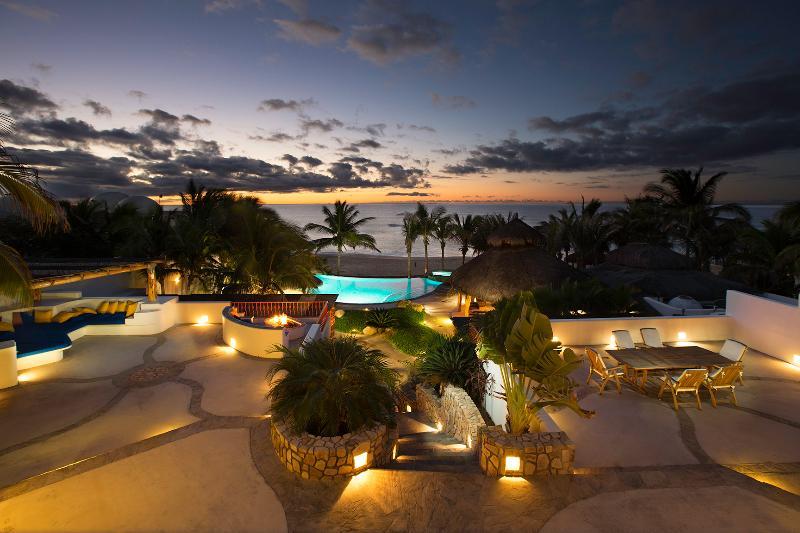 Morning on the beachfront - Beachfront Villa secluded beach San Jose del Cabo - San Jose Del Cabo - rentals