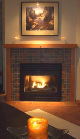 Cozy up by the fire. - David and Elaine's Whistler Getaway - Whistler - rentals