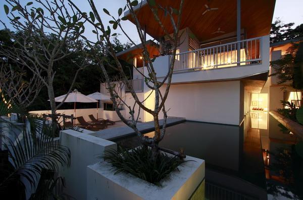Covered Lanai is Perfect Setting for Sundowners - Large Modern Tropical Villa In Kamala - 23 Meter L - Takayama-mura - rentals