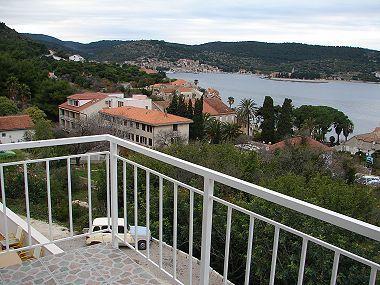 A1(4+1): terrace view - 03904VIS A1(4+1) - Vis - Vis - rentals