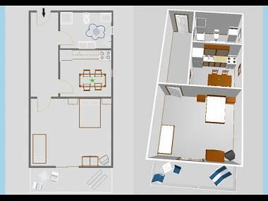 A1(3): floor plan - 03004VIS  A1(3) - Vis - Vis - rentals