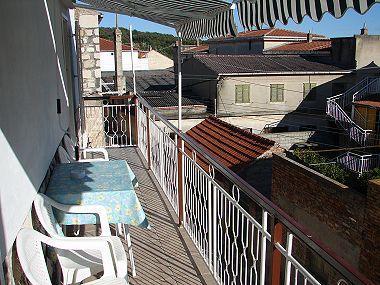 A1-Veci(4+2): balcony - 02004VIS A1-Veci(4+2) - Vis - Vis - rentals