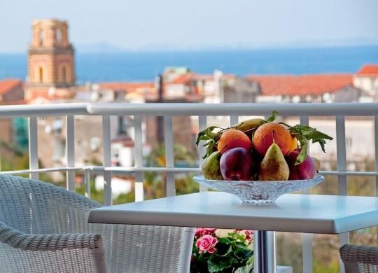 The view from the terrace - Casa Liana 2br/1b nice Apartment Sorrento center. - Sorrento - rentals