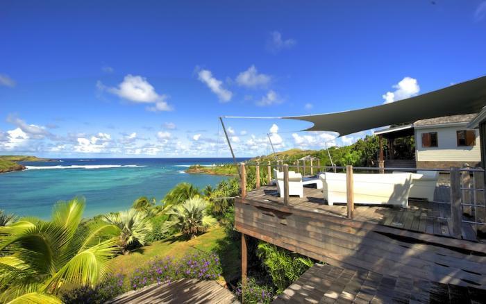 Luxury 6 bedroom Petit Cul de Sac villa. Private beach and gazebo! - Image 1 - Petit Cul de Sac - rentals