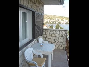 A2(5): terrace - 2798 A2(5) - Okrug Gornji - Okrug Gornji - rentals