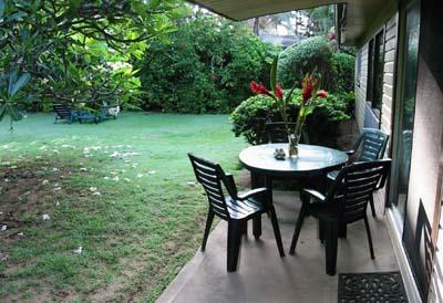 Relax and enjoy the serenity in your yard. - Anahola Beach House - Anahola - rentals
