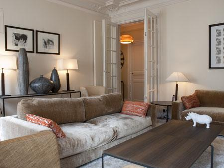 Living room - Babylone 3 - Paris - rentals