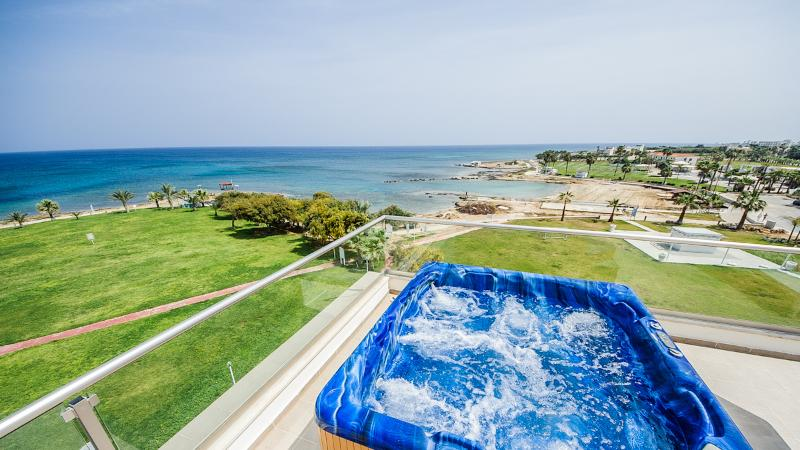 Oceanview Apartment 002 - Modern Seafront property - Image 1 - Protaras - rentals