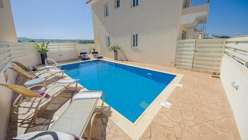 Oceanview Villa 012 - 3 bed with a Roof-Terrace - Image 1 - Protaras - rentals