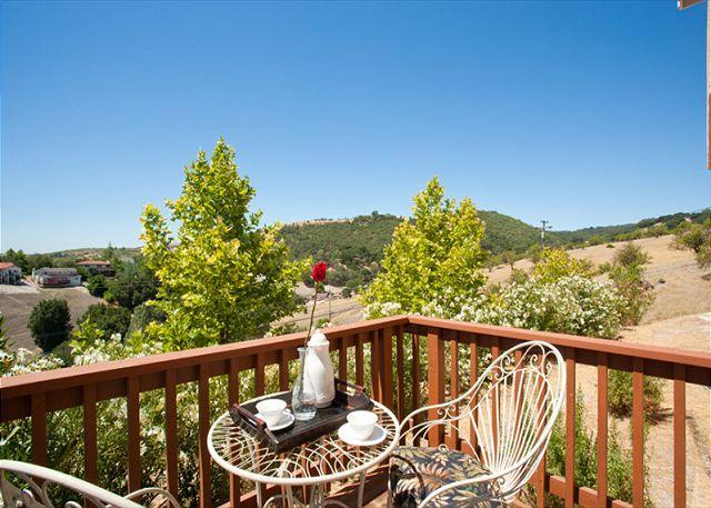 Panoramic Views, Deer, Birds and Tranquility Above Downtown Paso Robles - Image 1 - Paso Robles - rentals