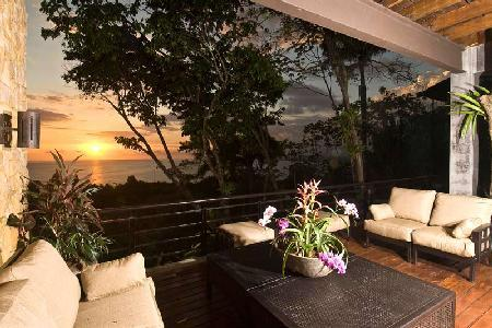 Casa Feliz - Tropical Getaway with Stylish Interior, Infinity Pool, Ocean View & Staff - Image 1 - Manuel Antonio - rentals