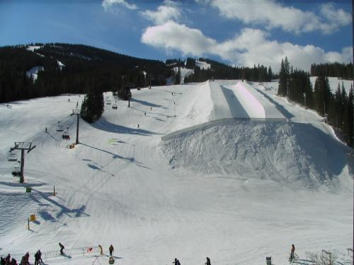 View from your condo! - Penthouse Level 2 BR/2BA W Panoramic Slope Views - Copper Mountain - rentals
