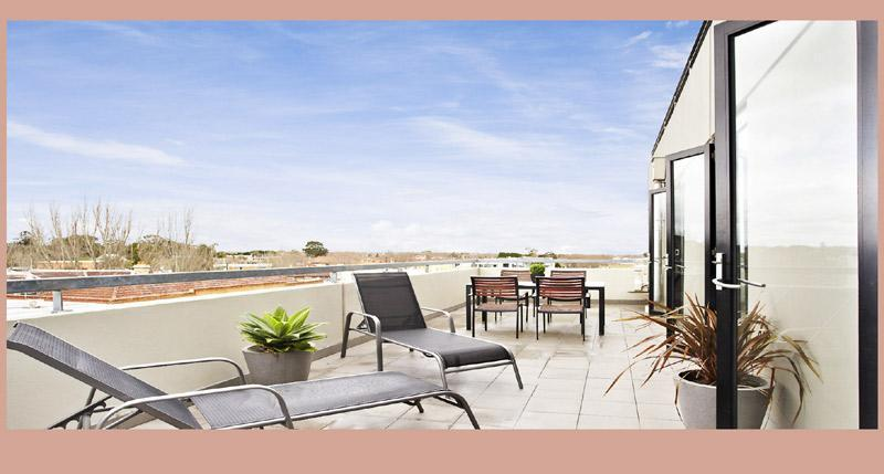 BAY VIEWS TERRACE dine alfresco and enjoy the views - ST KILDA BEACH - BAY VIEWS - Melbourne - rentals