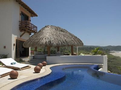 Zihuatanejo/Mexican Riviera Beachfront Villa - Image 1 - Zihuatanejo - rentals