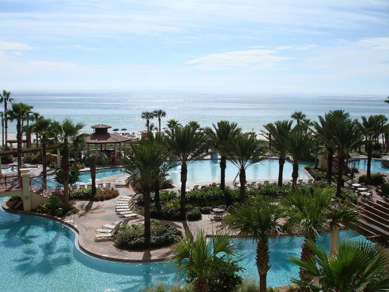 lagoon pool and ocean view - 4th floorunit  beautiful beach/pool views - Panama City Beach - rentals