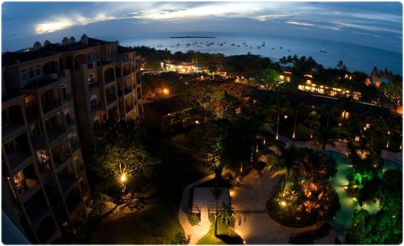 Condo & Pool at Night - Beautiful Diria 3BR Condo - Tamarindo! - Tamarindo - rentals