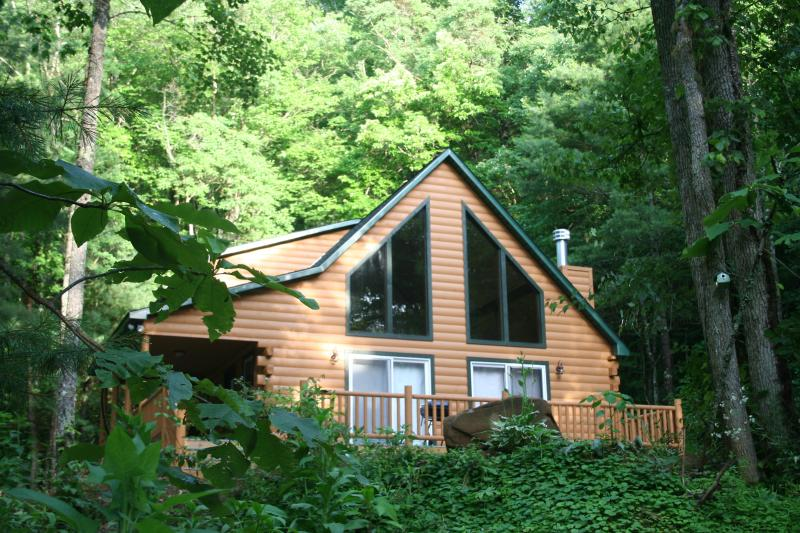 Exterior of Wald Haus - Five Private Acres Along Active Trout Stream - Robbinsville - rentals
