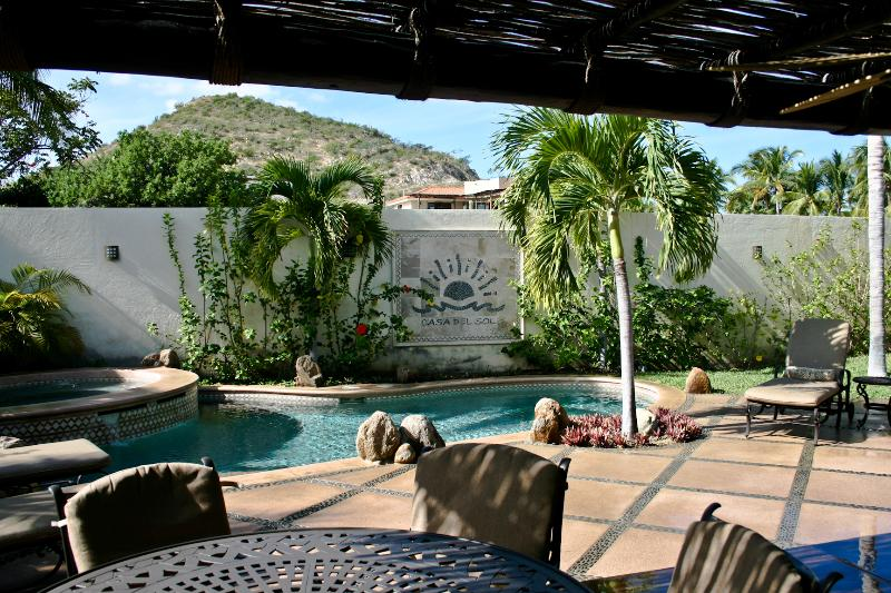 Backyard Outdoor Dining - Tooker Casa del Sol 5 bdrms/5bath - Private Pool - San Jose Del Cabo - rentals