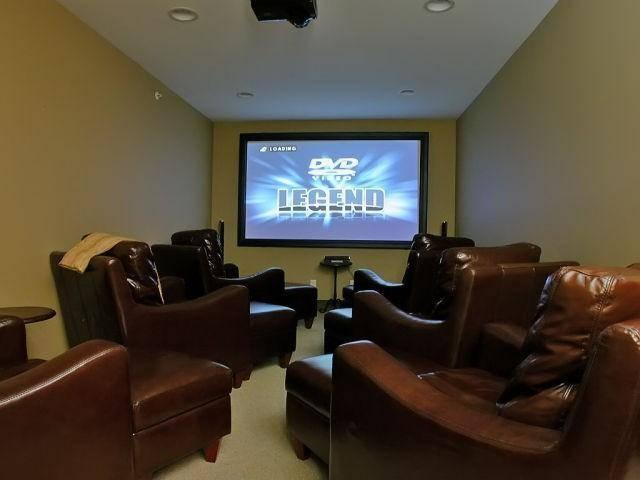 Ultimate home entertainment multi media room awaits you in the Forest Bear Lodge! Browse the photo gallery for more. - BigWhiteVacationHomes.com A - Big White - rentals