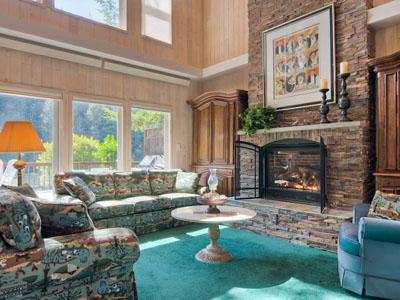 Riverfront Chalet, Vaulted Ceilings, Gas Fireplace - Riverfront Chalet - Monte Rio - rentals