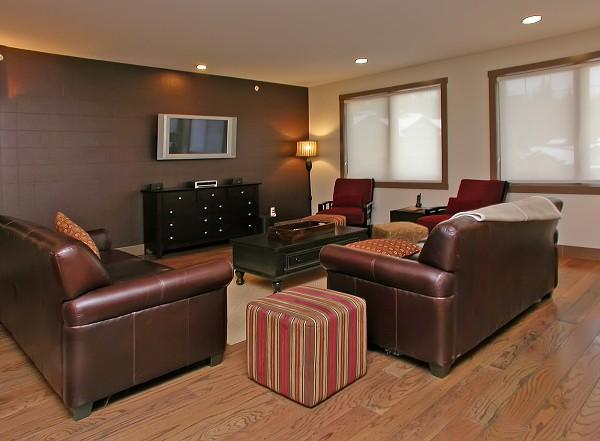 Our home offers a bright and spacious living area. - Penthouse Timbers - Big White - rentals