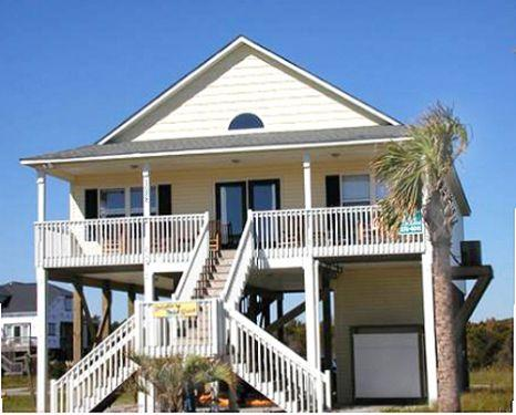 Dolphin Watch 1028 West Beach Drive - Image 1 - Oak Island - rentals